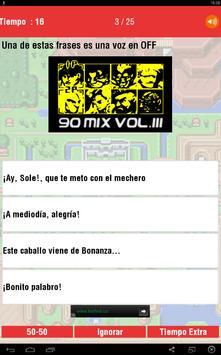 Los 90 Quiz apk screenshot