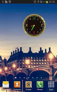 Ethiopic Analog Clock አማርኛ ሰዓት poster