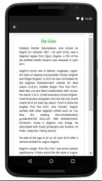 Da Grin - Music And Lyrics screenshot 4