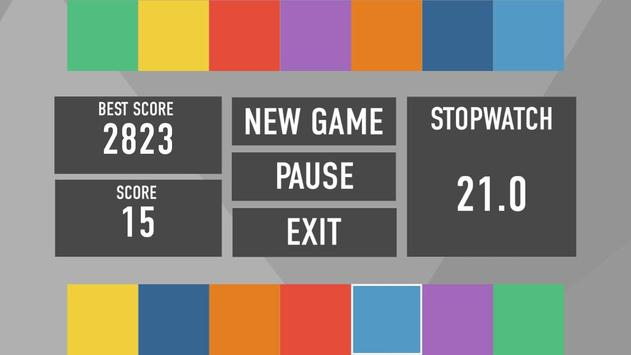 Rainbow logic game screenshot 1