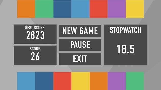 Rainbow logic game screenshot 2