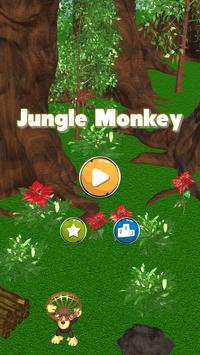 Jungle Monkey Fruit 3D Games poster