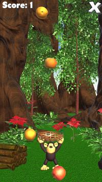 Jungle Monkey Fruit 3D Games screenshot 2