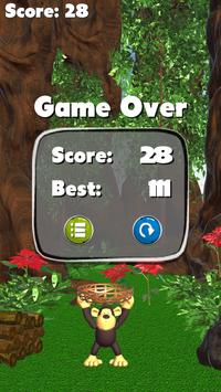 Jungle Monkey Fruit 3D Games screenshot 3