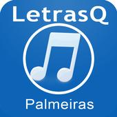 Palmeiras Letras Qrink icon