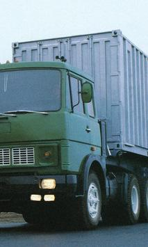 Themes MAZ Russian Trucks poster