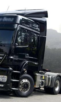 Themes Mercedes Axor Trucks poster