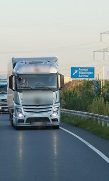 Themes New Mercedes Benz Truck screenshot 2