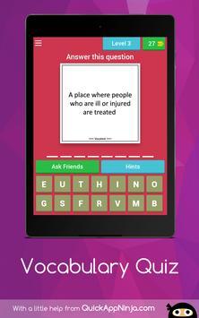 Vocabulary Quiz screenshot 15