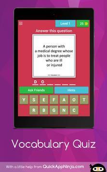 Vocabulary Quiz screenshot 6
