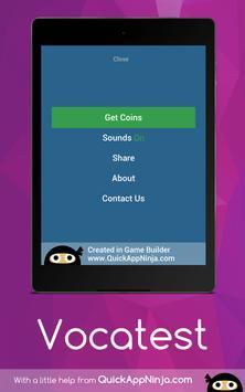 Vocatest apk screenshot
