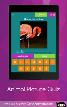 Animal Picture Quiz apk screenshot