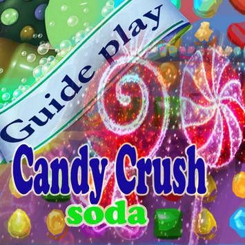 levels guide candy crush soda poster