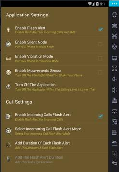 Alerte Flash Call Pro-Nouvelle apk screenshot