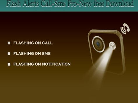 Flash Alerts Call-Sms Pro-New apk screenshot