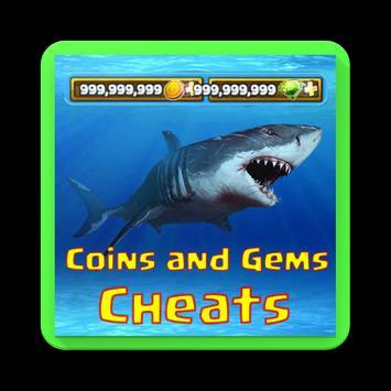cheats for hungry shark