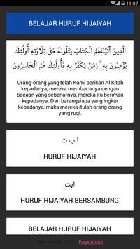 Belajar Huruf Hijaiyah poster
