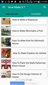 How Make It ? apk screenshot