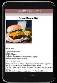 Cara Membuat Burger screenshot 3