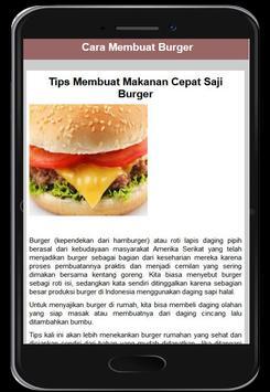 Cara Membuat Burger screenshot 1