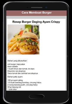 Cara Membuat Burger screenshot 2