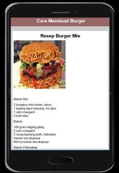 Cara Membuat Burger screenshot 4