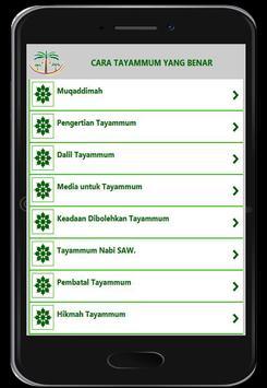 Cara Tayammum screenshot 10