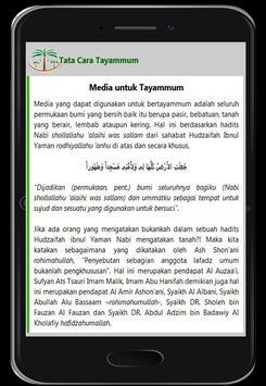 Cara Tayammum screenshot 4