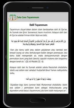 Cara Tayammum screenshot 8