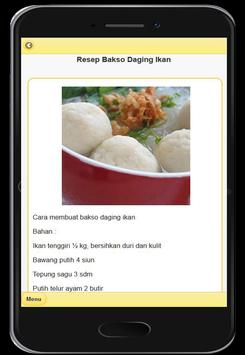 Resep Menu Bakso Enak screenshot 16