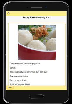 Resep Menu Bakso Enak screenshot 4