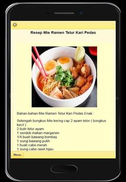 Resep Mie Ramen Khas Jepang screenshot 3