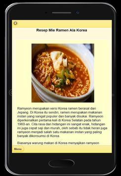 Resep Mie Ramen Khas Jepang screenshot 7