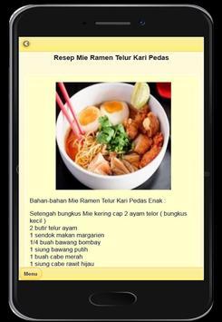 Resep Mie Ramen Khas Jepang screenshot 8