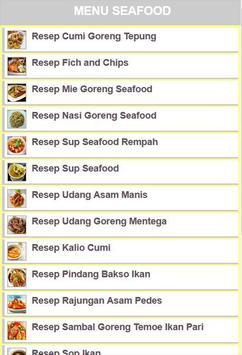 Resep Seafood poster
