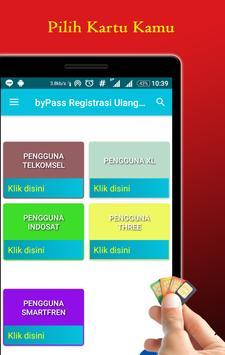 byPass Registrasi Ulang Kartu Prabayar poster