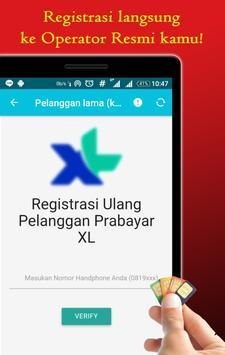byPass Registrasi Ulang Kartu Prabayar apk screenshot
