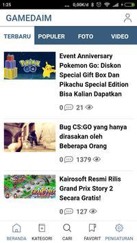 Gamedaim - Berita Game poster