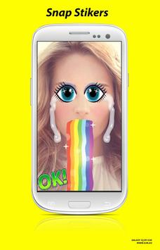 Snap photo filters & Emoji poster