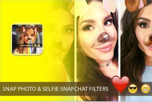 Snap photo filters & Emoji screenshot 3