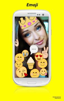 Snap photo filters & Emoji screenshot 4
