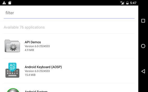 Application Sender screenshot 3