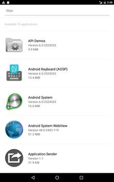Application Sender screenshot 4