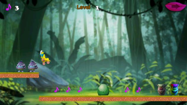 لعبة سنافر apk screenshot