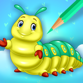 Cute Bugs Coloring Book icon