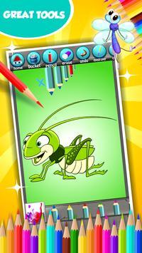 Cute Bugs Coloring Book screenshot 4