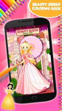 Beauty Queen Coloring Book poster