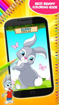 Bunny Coloring Book poster
