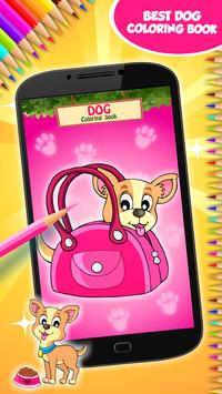 Dog Coloring Book poster