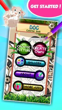 Dog Coloring Book screenshot 1